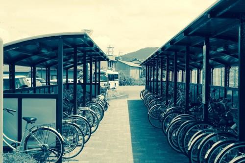 Wakasa Takahama Station: Bike Sheds, Fukui prefecture