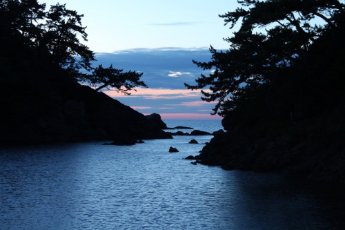 Beautiful sunsets at Wakasa Takahama, Fukui prefecture