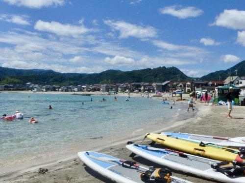Boards Taking a Break, Fukui prefecture