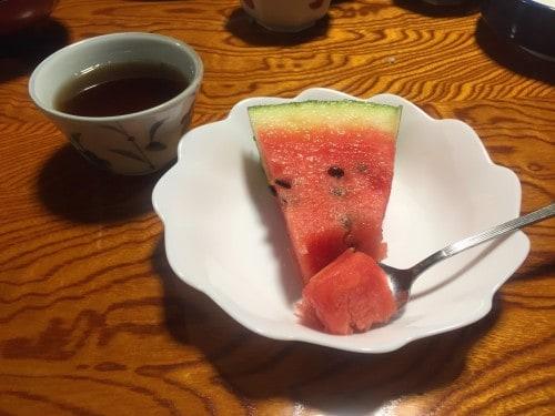 Wakashisou Dessert: Watermelon is an Expensive Treat in Japan! at ,Wakasa Takahama, Fukui prefecture