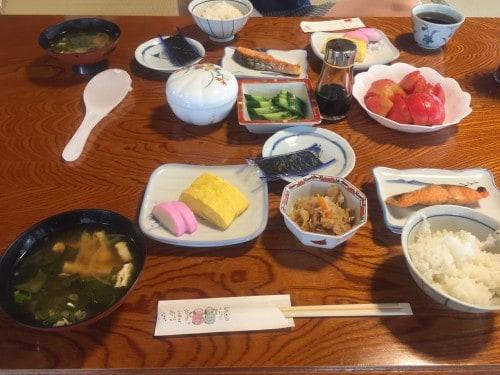 Wakashisou: Breakfast in ,Wakasa Takahama, Fukui prefecture