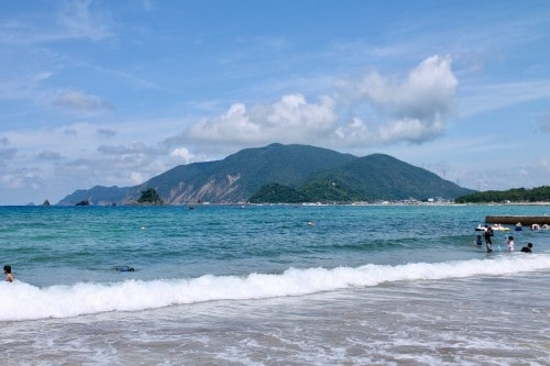 Shirahama Beach, Fukui prefecture