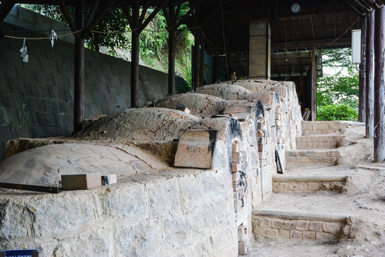 traditional pottery kiln in Imari,  Japan