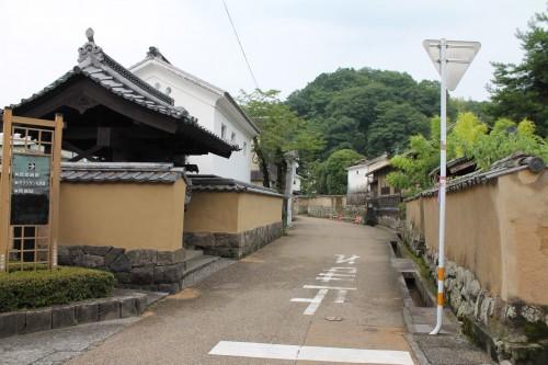 The castle town in Taketa, Oita prefecture, Kyushu, Japan.