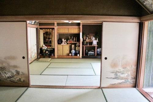 Farm stay at Ofuji in Oita prefecture, Kyushu, Japan.