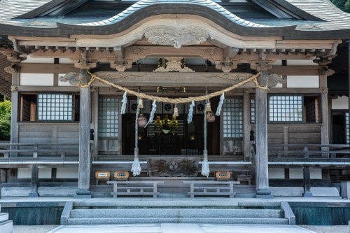 Kagamiyama shrine, Karatsu, Saga.