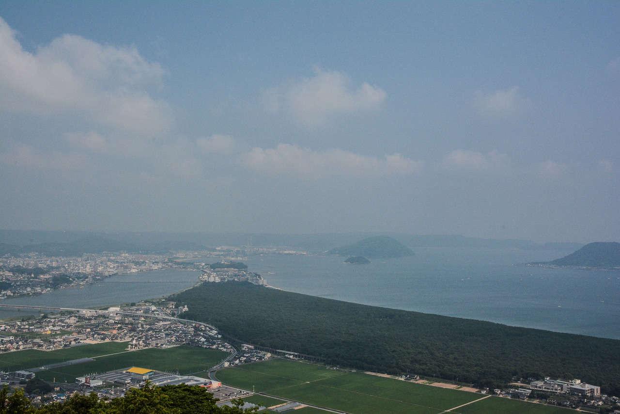 Karatsu: Niji no Matsubara Beach and Kagamiyama Shrine