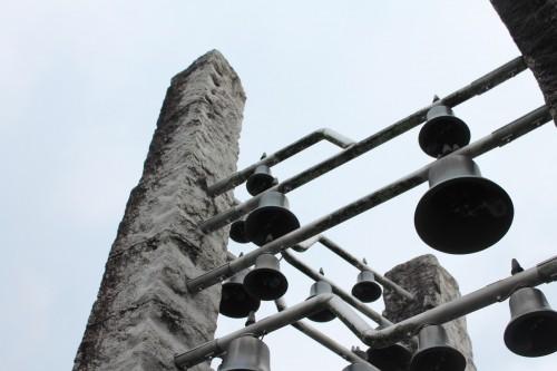 The Carillon Bells Play Songs of Taki Rentaro, Taketa city, Oita prefecture, Kyushu, Japan.