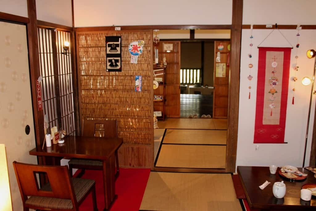 Choose Between Traditional and Modern Seating.Kitsuki is a castle town in the Oita Prefecture, Kyushu.