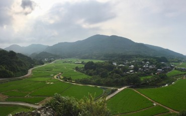 Tashibunoshou View Point at Bungotakata city, Oita prefecture.