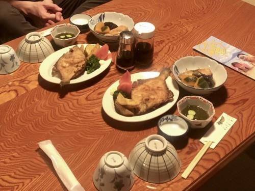 Wakashisou: Blowfish Dinner,,Wakasa Takahama, Fukui prefecture