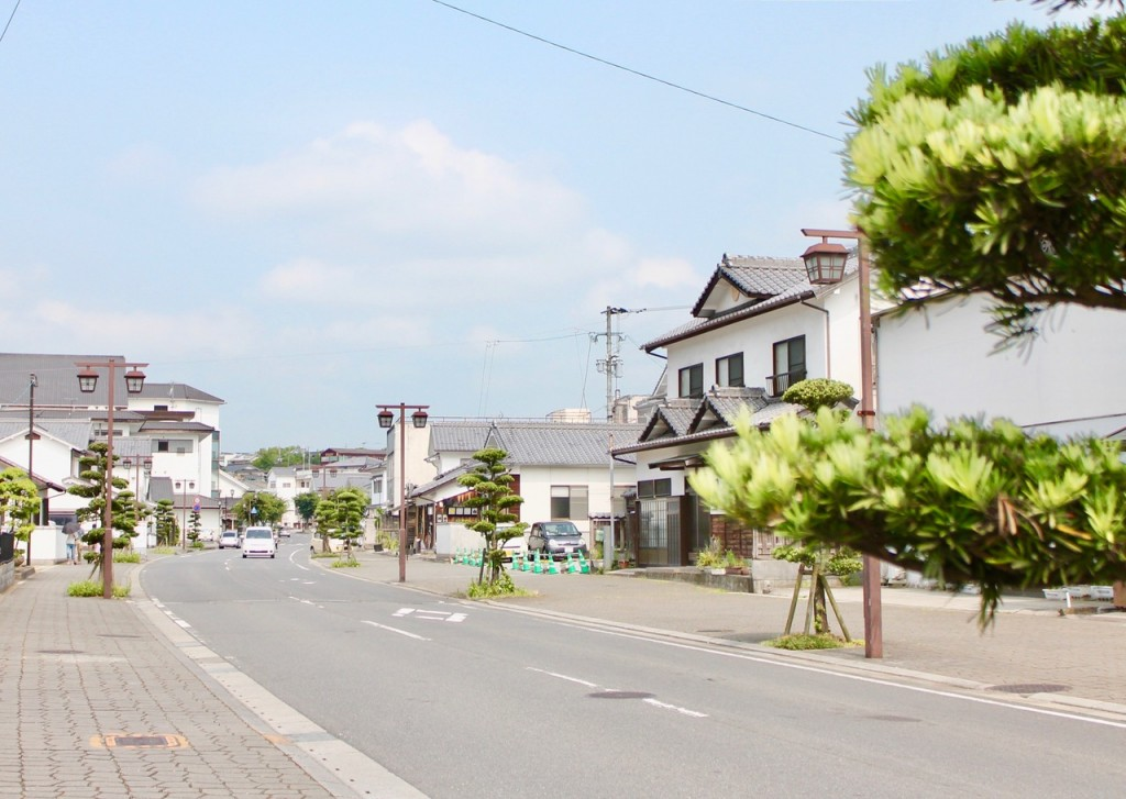Kitsuki City Centre, Commercial District (Nakamachi)