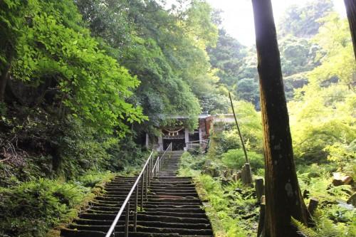 Monjusen-ji temple at Kunisaki peninsula, Oita prefecture, Japan.