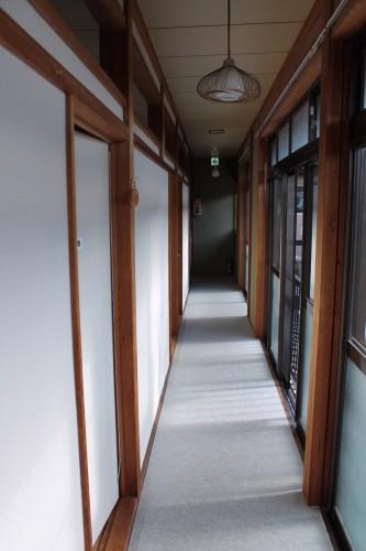 Tokiokaso: Shoji Doors in Hallway,,Wakasa Takahama, Fukui prefecture