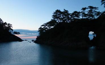 Beach at Wakasa Takahama, Fukui prefecture