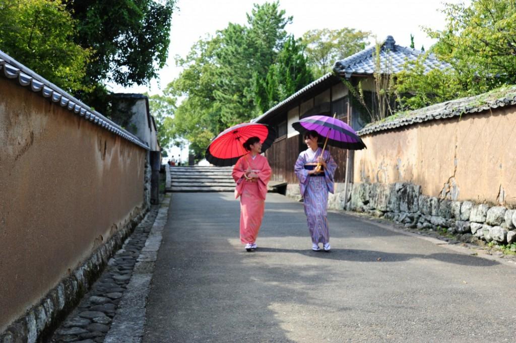 Kitsuki is a castle town in the Oita Prefecture, Kyushu.