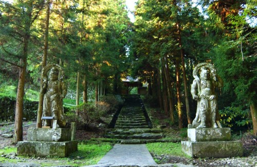 Futago-ji temple at Kunisaki peninsula, Oita prefecture, Japan.