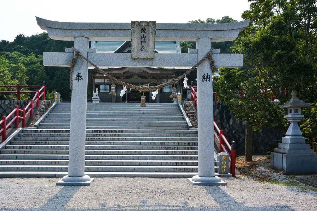 An another torii which also leads to the shrine