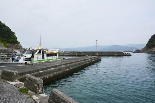 The Port in Cat island Fukashima, Oita prefecture, Kyushu.