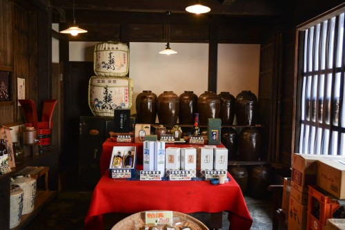 Sake Brewery in Usuki, Oita prefecture, Kyushu, Japan.