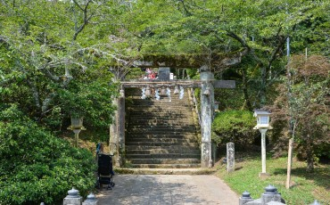 Goshadaimyo shrine is the oldest shrine at Takeo onsenin Saga.
