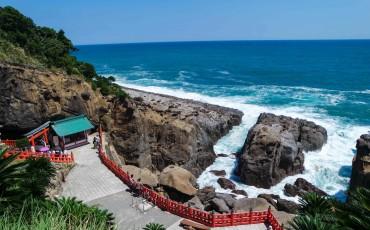 Udo Jingu Shrine Kyushu Travel Roadtrip Miyazaki Prefecture