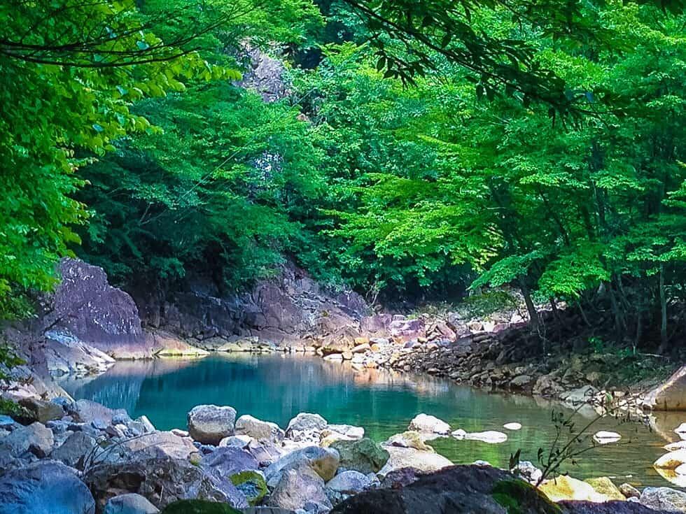 Hidden Onsen in Nakanojo, Gunma