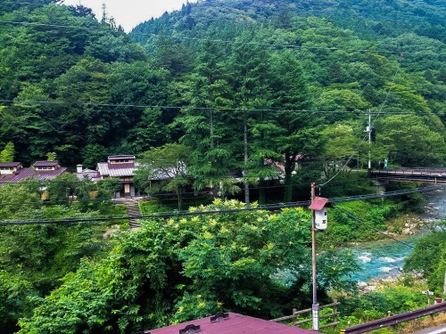 Shima onsen, gunma prefecture, Japan.