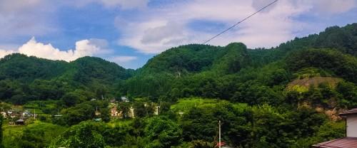 Shiriyaki onsen, a hidden onsen place in Nakanojo town, Gunma prefecture.