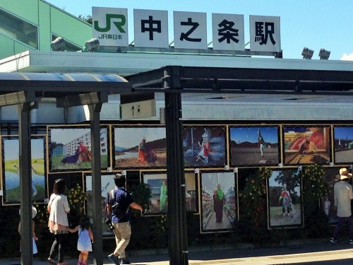 JR Nakanojo station, Gunma prefecture.