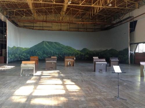 The art festival Nakanojo Biennale in Gunma prefecture, close to Tokyo.