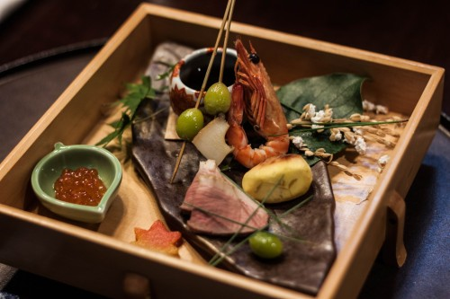 My Chef sushi experience at The Prince Villa Karuizawa