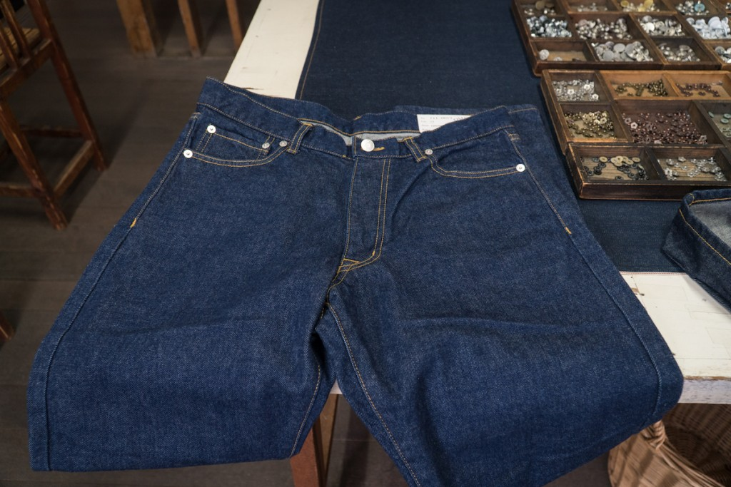 Betty Smith Jeans Making Experience