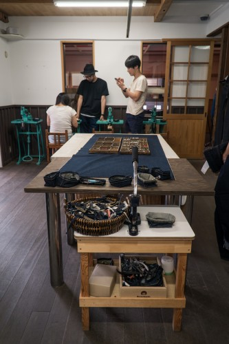 Betty Smith Jeans Making Experience,Kojima,  Kurashiki city, Okayama prefecture, Japan.