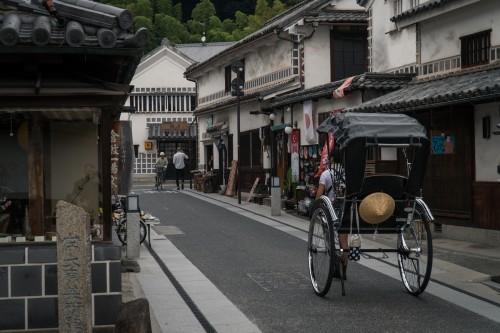 Kurashiki Bikan Historical Quarter in Okayama prefecture, Japan.