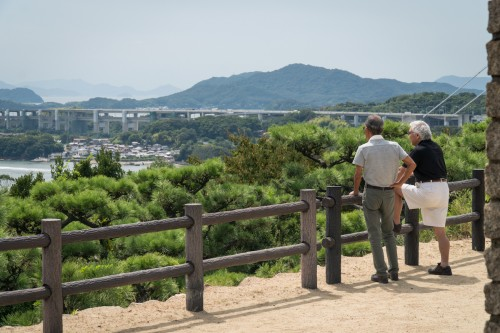 Mt Washu in Seto Inland Sea National Park