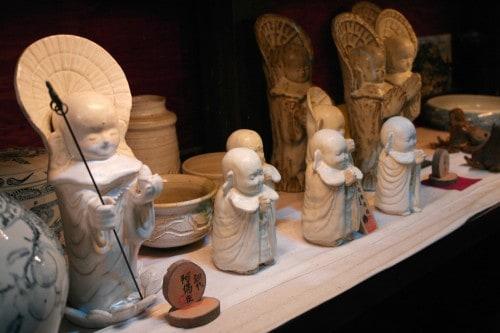 A beautiful ceramics found in the farmer's gallery in Oita prefecture ,Japan.