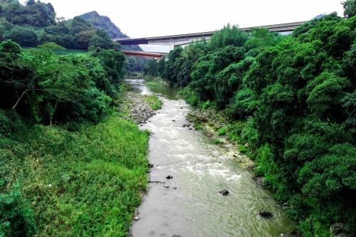 Torii Bashi Bridge in Oita prefecture, Kyushu, Japan.