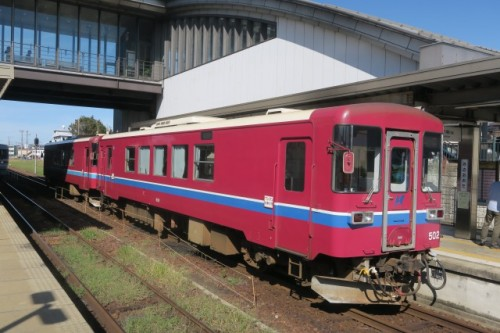 JR train to get to Mino city, Gifu, Japan