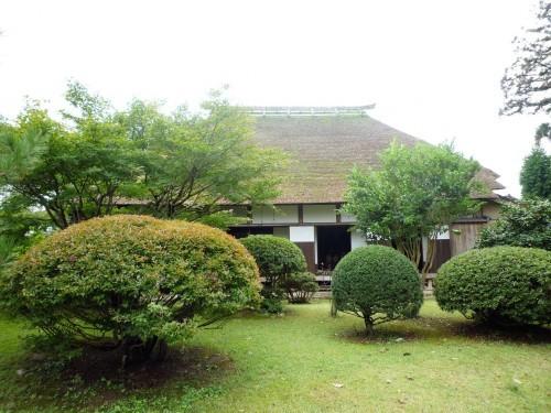 Old samurai residence inside Murakami's Kinen Koen park.