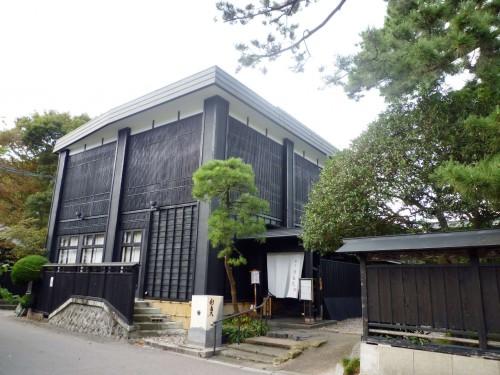 Murakami's Shintaku restaurant.