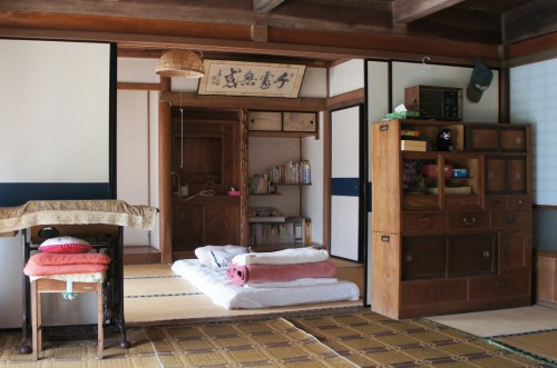 Farmer's stay on Kunisaki peninsula, Oita, Kyushu, Japan