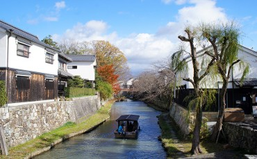 Omihachiman, Shiga prefecture, Japan.