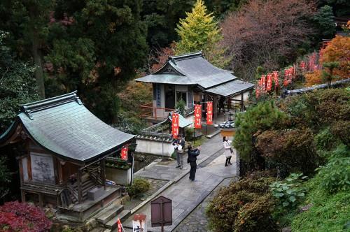 Chikubu, a Sacred Buddhist Island in the Lake Biwa, Shiga prefecture, Japan.