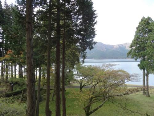 The Prince Hakone Lake Ashinoko in Hakone near Tokyo, Japan.