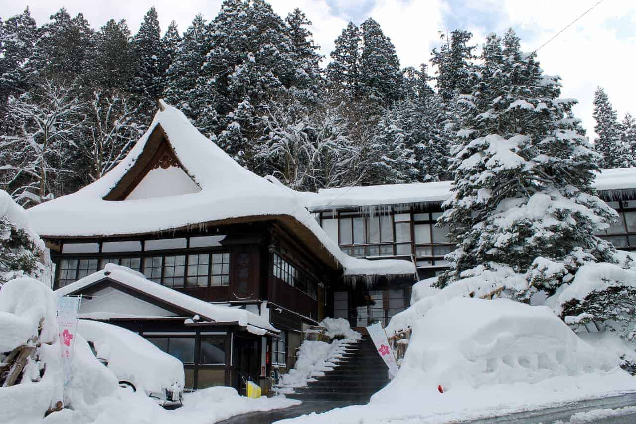 Walk Around Shirabu Onsen in Yonezawa City