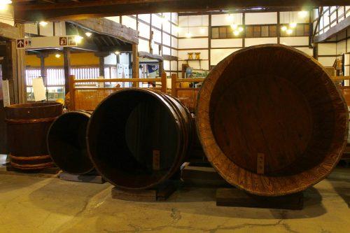 Toko Sake Brewery in Yonezawa City, Yamagata Prefecture, Tohoku, Japan.