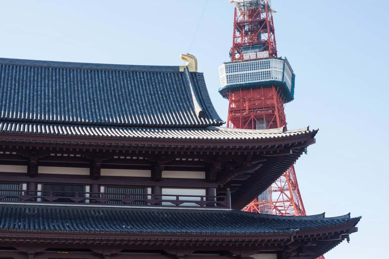 Finding the Best Views in Tokyo: Zojo-ji Temple and the WTCB Observatory