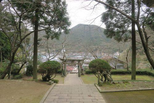 The coastal scenery of Amakusa islands in Kumammoto, Kyushu, Japan.