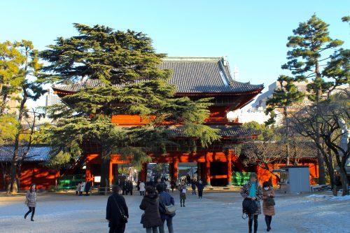 Zozoji Temple in Shiba Park, Tokyo